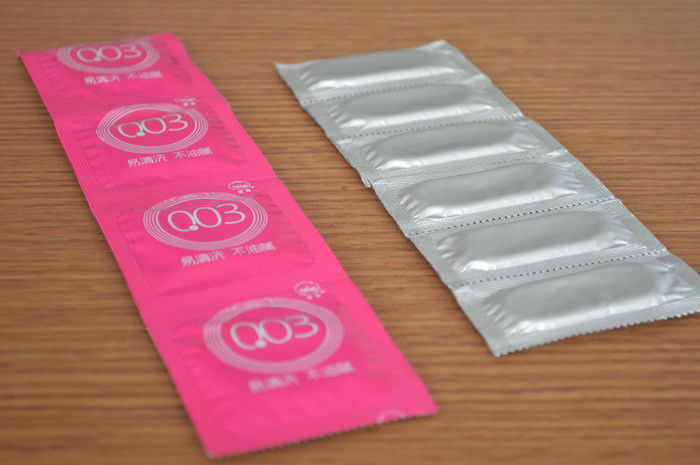 Increase Climax Very Thin Condoms With 0.03~0.05mm Thickness Multi Size