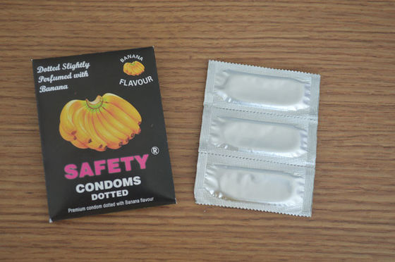 China Time Delay Fruit Flavoured Condoms Natural Latex Rubber For Delay Ejaculation distributor
